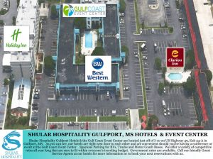 Arial View Event Center